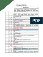 Cronograma Mecánica segundo semestre 2018