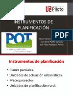 Instrumentos de Planificacion