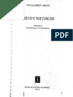 Paul-Laurent Assoun - 1980 - Freud y  Nietzsche, parte I.pdf