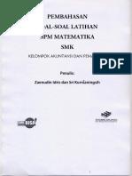 Pembahasan SPM Mat AP