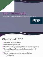 TDD - Introdução e Implementação