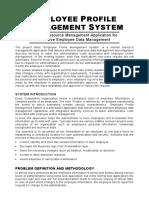 Employeeprofilemanagementsystem 090906144903 Phpapp02 (1)