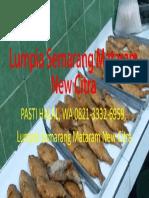 PASTI HALAL, WA 0821-3332-6959, Lumpia Semarang Mataram New Citra