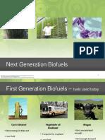 Next Generation Biofuels
