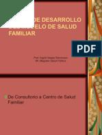 Etapas de Desarrollo Del Modelo de Salud Familiar