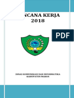 Renja Dinas Kominfo Maros 2018