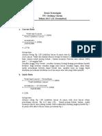 Tugas Analisi Laporan Keuangan (Ratio Keuangan).doc