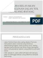 [Penelitian Operasional] Analisa Kelayakan Pembangunan Jalan Tol Pemalang.pptx