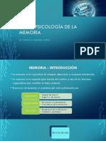 Neuropsicología de La Memoria