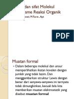 Ikatan dan sifat Molekul Mekanisme Reaksi Organik.pptx