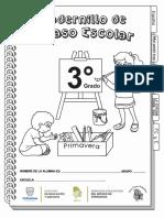 cuadernillo de actividades para niños 3 grado