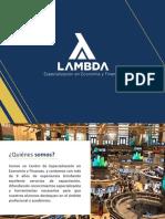 Brochure de Cursos Internacionales - Lambda