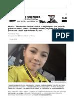 México_ _Me Dijo Que Me Iba a Cortar La Vagina Para Que Ya No Le Gustara a Nadie_, María Guadalupe Pereda, La Joven Que Estuvo Presa Casi 3 Años Por Defender Su Vida - BBC News Mundo