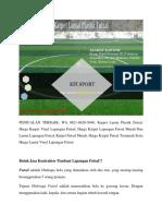 Karpet Lantai Plastik Futsal, PENJUALAN TERBAIK, WA 0821-8620-5040