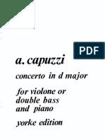 Capuzzi - Concerto