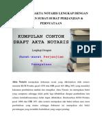 Jual Contoh Akta Notaris
