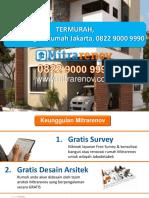 TERMURAH, Jasa Bangun Rumah Jakarta, 0822 9000 9990