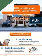 TERMURAH, Jasa Renovasi Rumah Jakarta, 0822 9000 9990