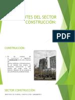 Agentes Del Sector Construcción