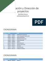 Formulación y Dirección de Proyectos