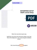 6 - Enterprise Setup (License Setup)