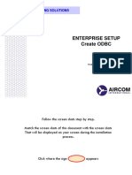 7 - Enterprise Setup (Create Odbc)