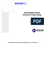 10 - Enterprise Setup (Project Setup)