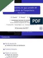DISEÑO DE UN SISTEMA DE ABASTECIMIENTO DE AGUA POTABLE, MEDIANTE EL MÉTODO DE GRADIENTE HIDRÁULICO.
