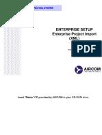 11 - Enterprise Setup (Project Import)