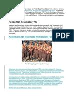 Penjelasan Struktur Organisasi Gudep