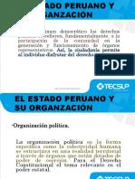 Estado Peruano y Su Organización