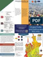 Earthquake Risk Atlas Brochure for Dhaka