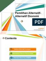 Pemilihan Alternatif-Alternatif Ekonomi.pptx