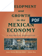 Development and Growth in the M - Juan Carlos Moreno-Brid
