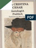 Cesar, Ana Cristina - Antología poética