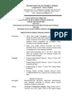 SK Pengangkatan Petugas IPCO