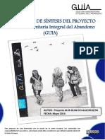 Documento Síntesis Proyecto GUIA