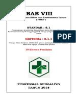 Cover Map Akreditasi Bab VII Per Standar
