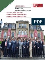 Dossier Master en Direccion y Administracion de Empresas Online Mba