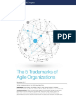 The Five Trademarks of Agile Organizations