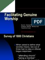Worship 4. Facilitating Genuine Worship (Barna) (1)