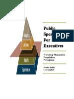 Public Speaking for Executive