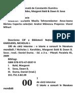 100 de Carti Interzise Nicolas J Karolides Margaret Bald Dawn B Sova