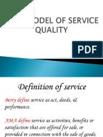 Gap Model of Service Quality.
