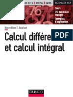 N.el Jaouhari-Calcul Differentiel Et Calcul Integral-DUNOD (2017)