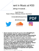 Assessing in music