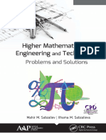 Higher Mathematics for Engineering and Technology Problems and Solutions
