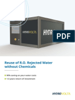 HydroVolta RoCycled Brochure CU - EnG