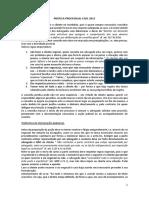 Prática Processual Civil 2015