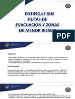 Identifique Sus Rutas de Evacuación y Zonas de Menor Riesgo